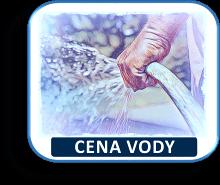 Srovnání cen vody v regionech ČR.