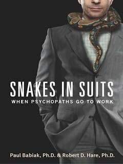 Kniha: Hadi v obleku. Psychopat jde do práce.