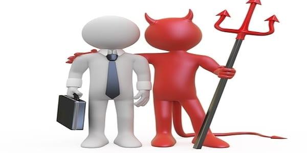 zastupitel a obchod s ďáblem